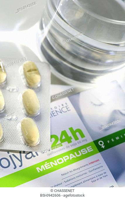 HERBALMEDICINE<BR><BR>BookletofSojyam:foodcomplementbasedofamixofyamrichinphytoprogesteroneandsoyarichinphytoestrogens...