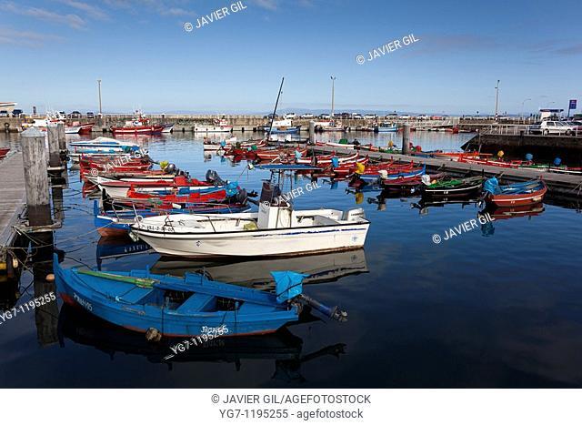 Port of Ribeira, La Coruña, Galicia, Spain