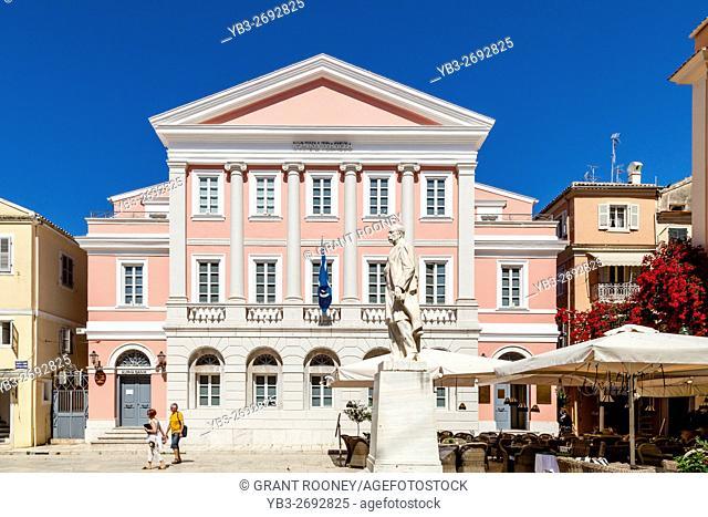 The Banknote Museum, Corfu Town, Corfu Island, Greece