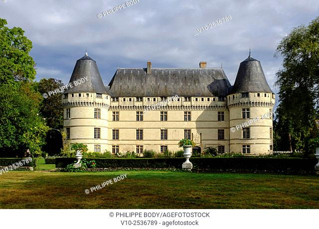 France, Indre et Loire, Loire Valley on the world Heritage List of UNESCO, castle of Islette, dated 16 th. century