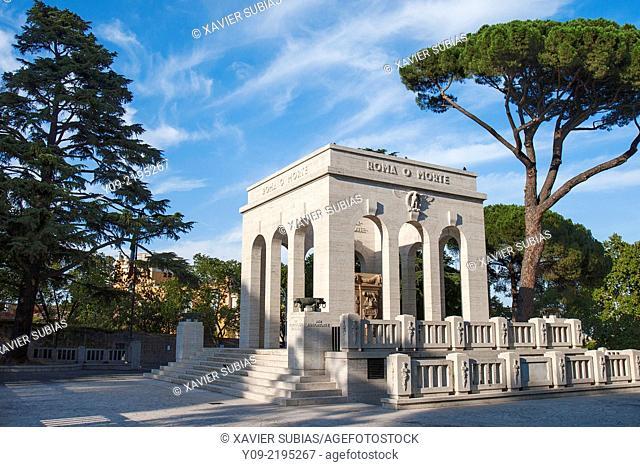 Mausolée de Garibaldi, Rome, Lazio, Italy