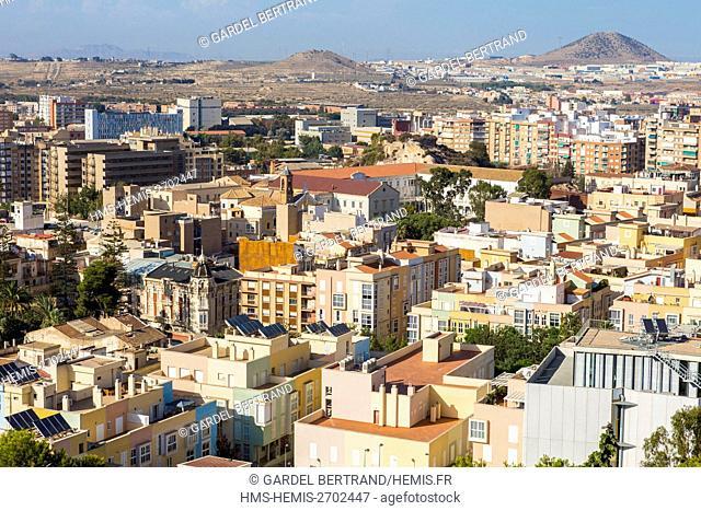 Spain, Murcia Community, Cartagena, general view