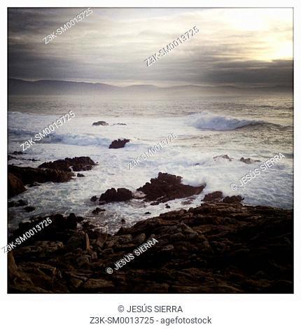 Punta Roncudo, A Coruña, Costa da Morte, Galicia, Spain