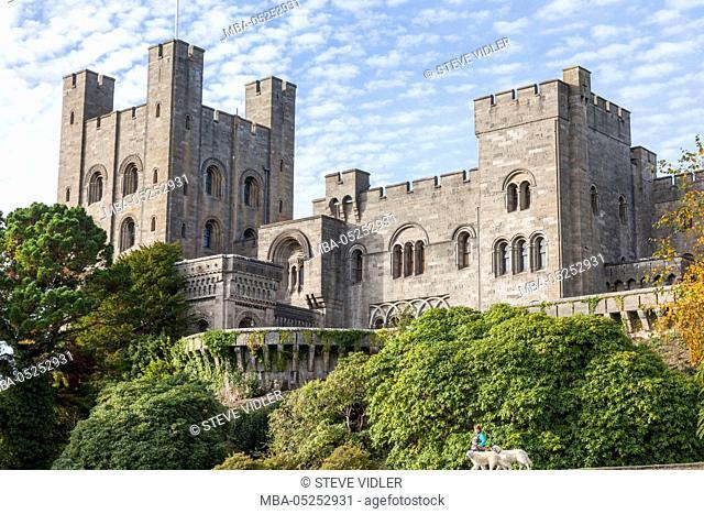 Wales, Bangor, Penrhyn Castle