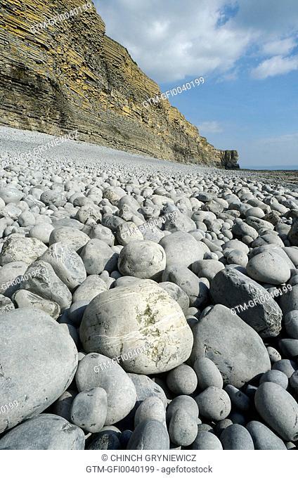 Rocky Beach At Lowtide