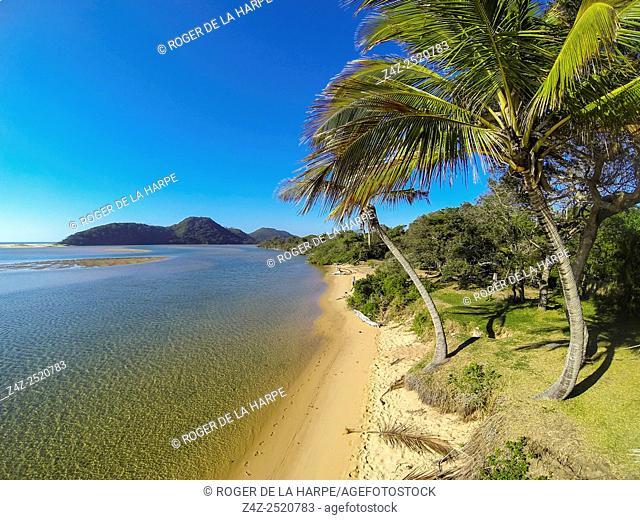 Aerial View of Kosi Bay. KwaZulu Natal. South Africa