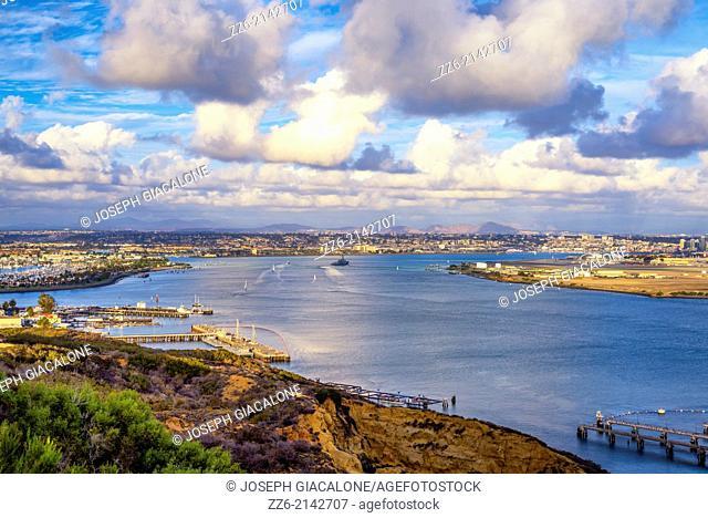 San Diego Harbor. San Diego, California, United States