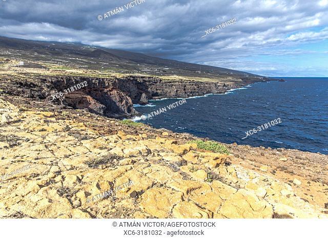 La Hondura cliff. Tenerife, Canary Islands, Spain