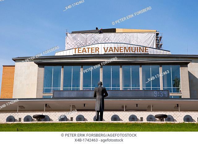 Teater Vanamuine theatre central Tartu Estonia the Baltic States Europe