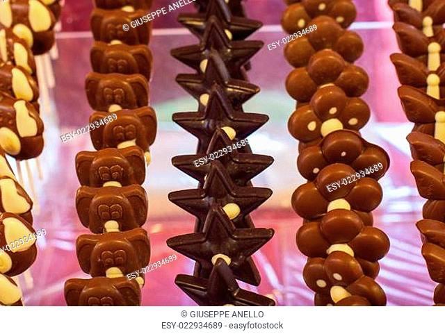 Chocolate toys