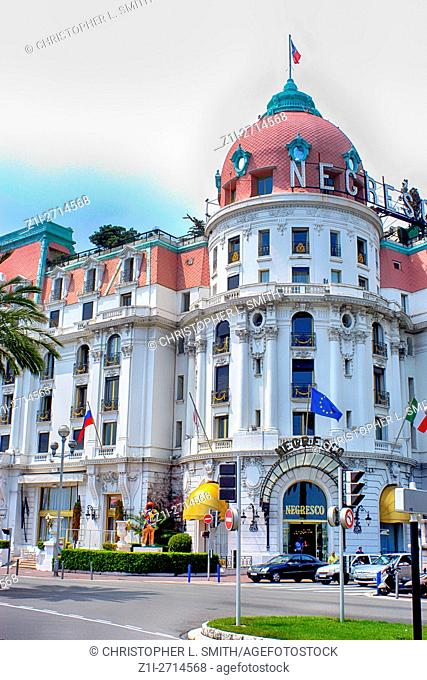 The Negresco Hotel, Nice, South of France