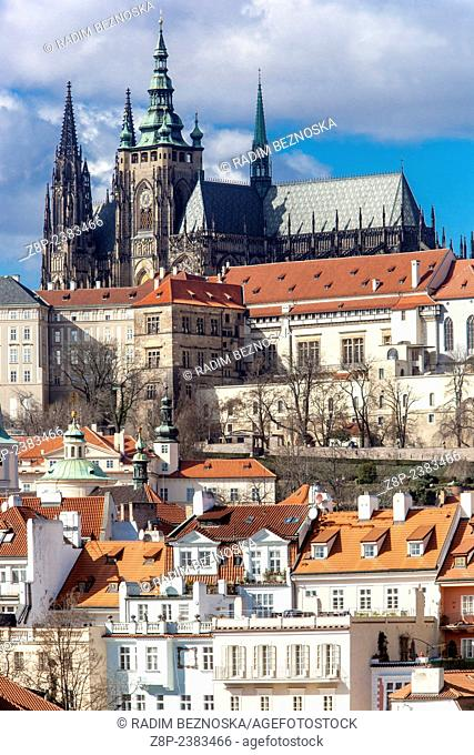 Prague Castle Hradcany Czech Republic