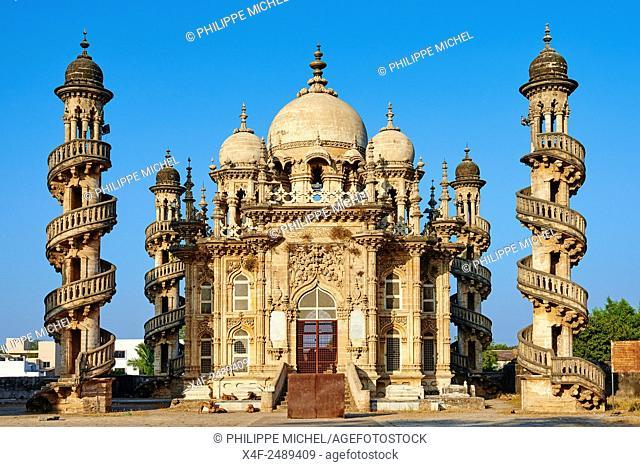 India, Gujarat, Junagadh, Mahabat Maqbara, Vizir mausoleum, 19 century
