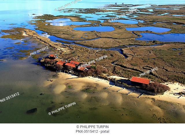 France, Gironde. Arcachon Bay. Bird Island