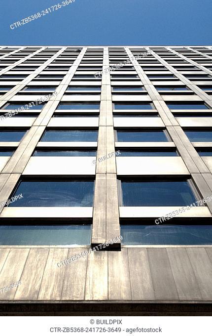 Modern office block, City of London, UK