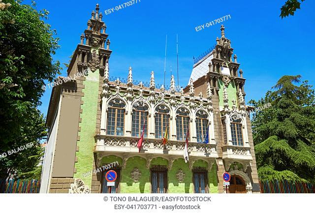 Albacete Museo cuchillo knife museum facade in Castile La Mancha
