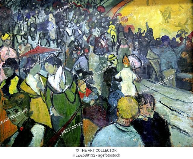 'The Arena at Arles', 1888. Detail. Found in the collection of the State Hermitage, St Petersburg