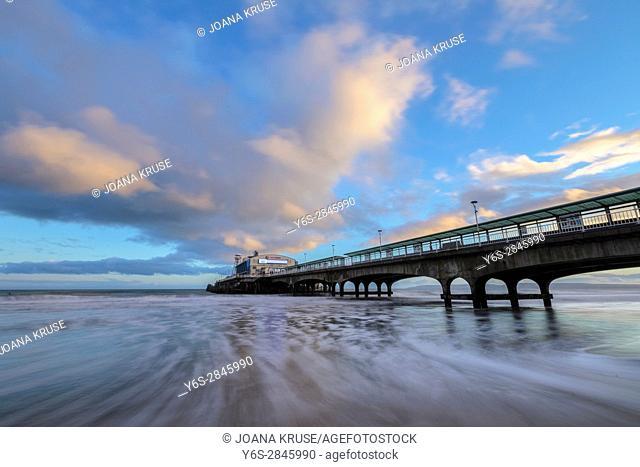 Bournemouth Pier, Dorset, England, UK