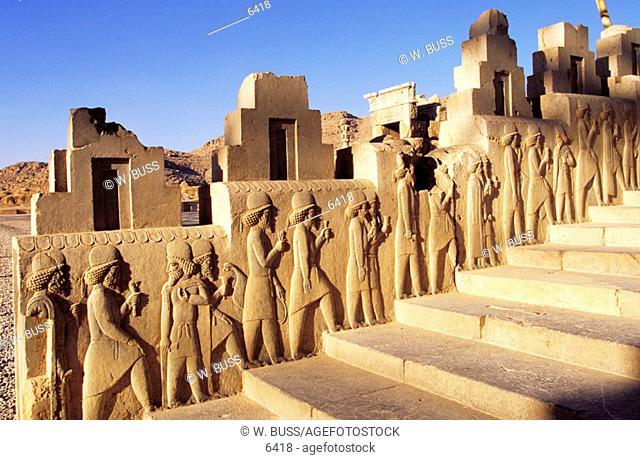 Tripylon. Persepolis. Iran