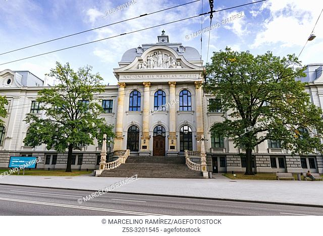 The Latvian National Museum of Art is the richest collection of national art in Latvia. Riga, Latvia, Baltic states, Europe