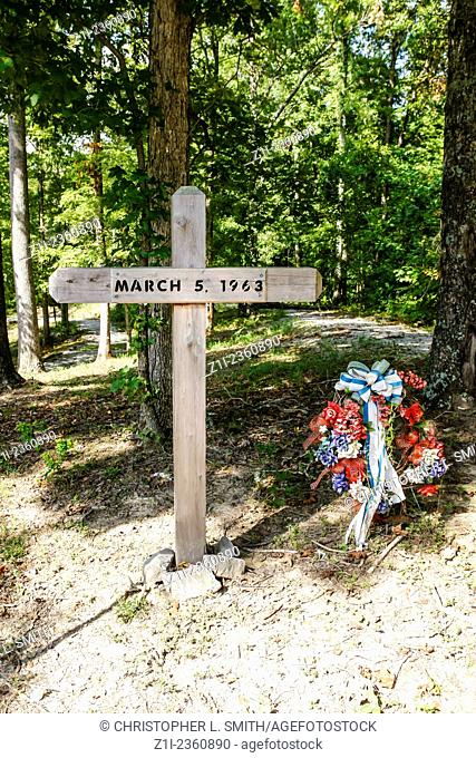 The Patsy Cline Crash Site Memorial Camden Tennessee