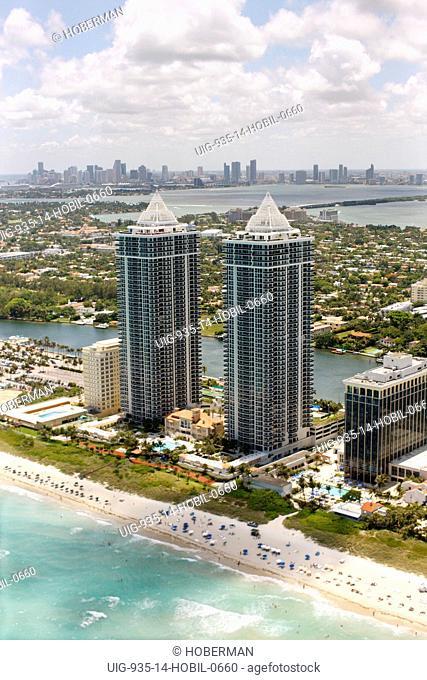 The Blue and Green Diamond Condominiums, Miami Beach