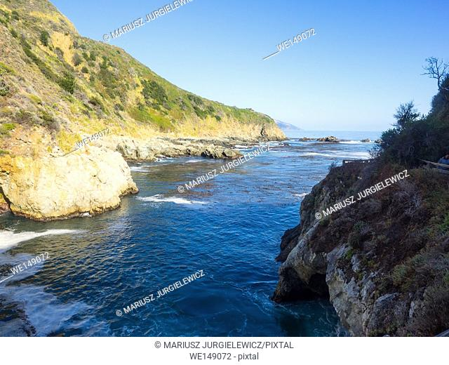 Partington Cove holds a special piece of Big Sur history. Much of the tan bark and lumber was shipped out of this cove. There is a tunnel that goes through the...