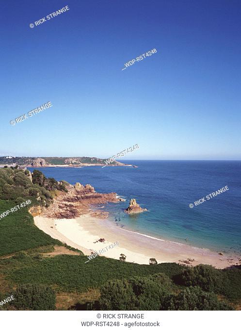 Beauport Bay, Jersey, Channel Islands