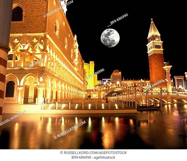 The Venetian, Hotel Casino, The Strip Las Vegas, Nevada, USA