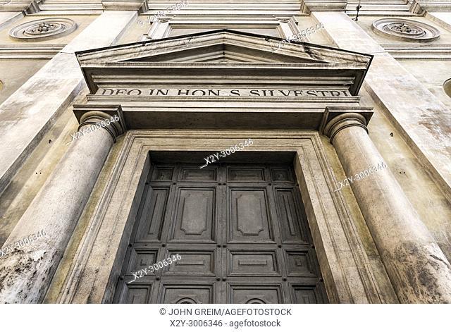 Church of San Silvestro al Quirinale, Rome, Italy