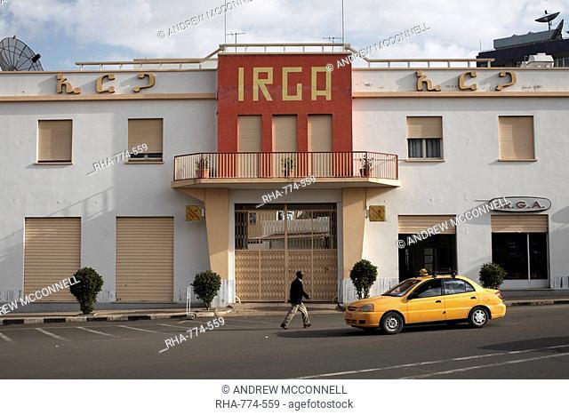 The Irga Building, Asmara, Eritrea, Africa