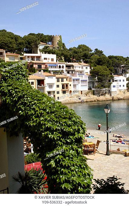 Sa Tuna, Begur. Costa Brava, Girona province. Catalonia. Spain