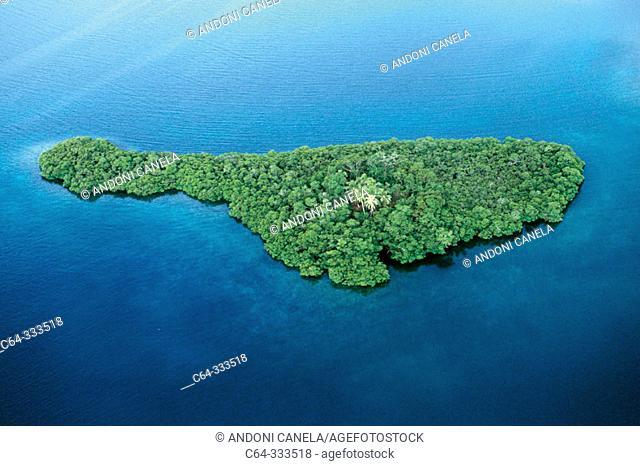 Bocas del Toro archipelago. Caribbean sea. Panama