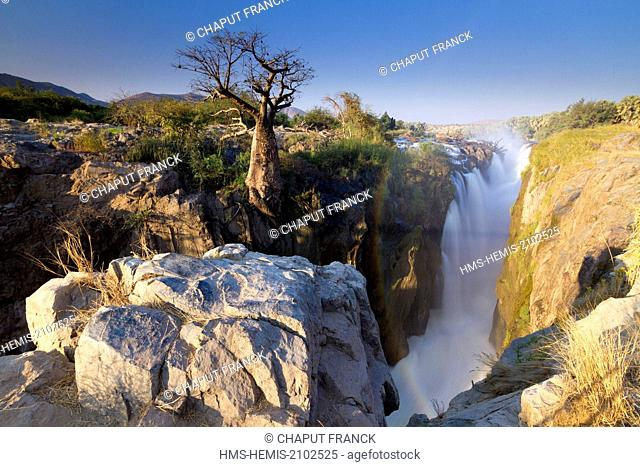 Namibia, Kunene region, Kaokoland, Epupa falls