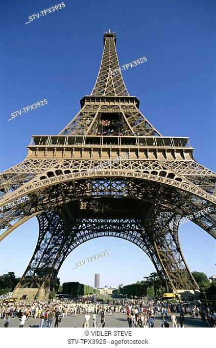 Eiffel, Eiffel tower, France, Europe, Holiday, Landmark, Paris, Tour, Tourism, Travel, Vacation