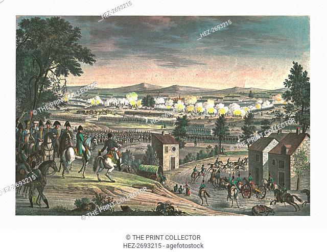 Battle near Lutzen, 2 May 1813, (c1850). Artists: François-Louis Couché, Edme Bovinet