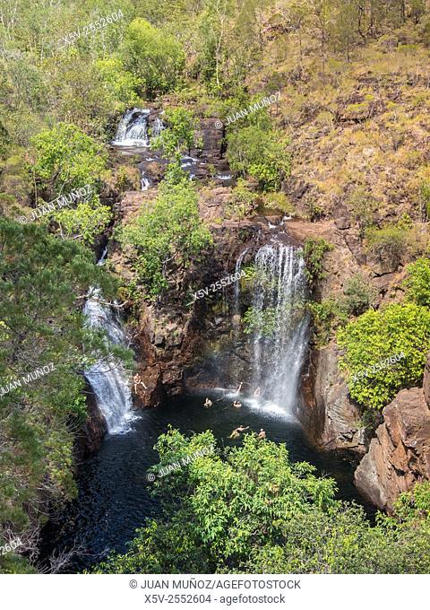 Florence Falls. Litchfield National Park. Northern Territory. Australia