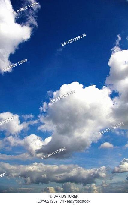 Wolkenhintergrund 01