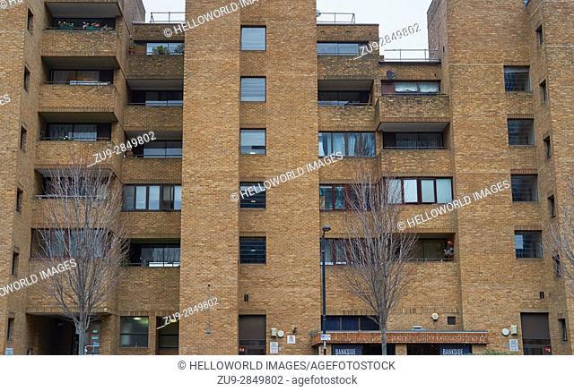 Urban apartments South Bank, London, England