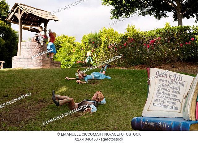 Storybook Garden, Hunter Valley Gardens, Pokolbin, New South Wales, Australia