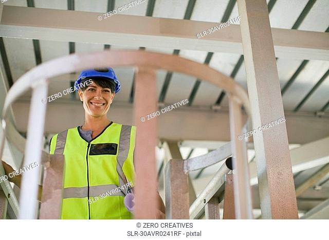 Portrait of a female architect