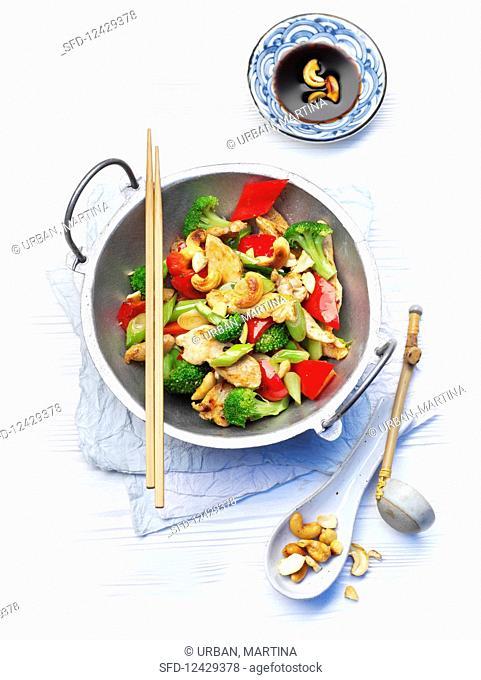 Szechuan style chicken