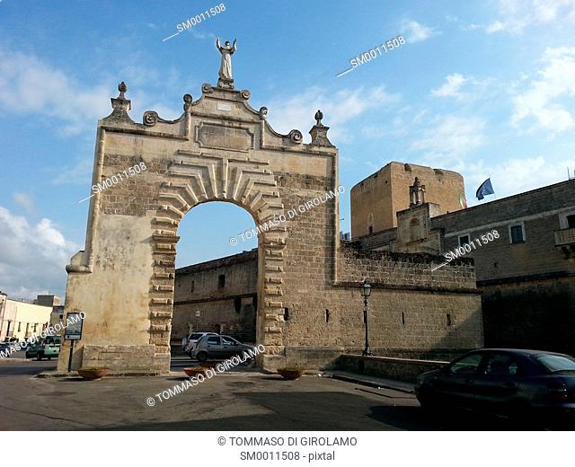 Italy, Puglia, Salento, Copertino Locality, San Giuseppe Port