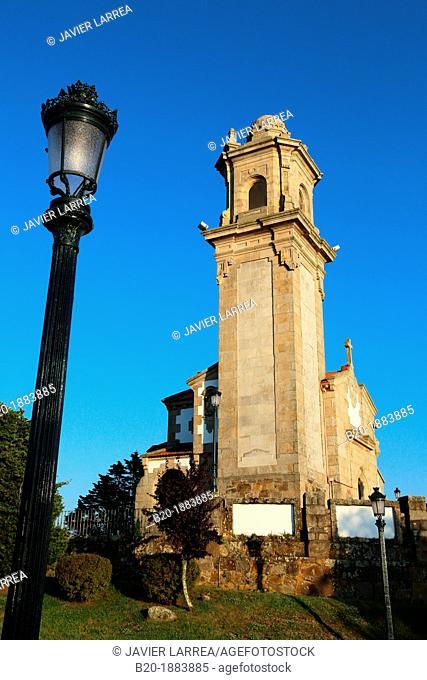 Ermita de Nosa Señora da Guía, Vigo, Pontevedra province, Galicia, Spain