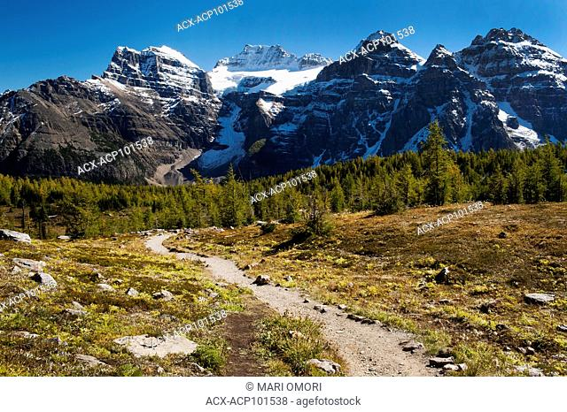 Larch Valley, in Banff National Park