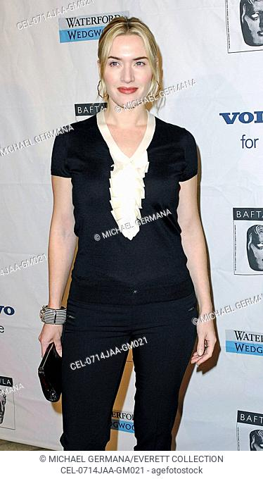 Kate Winslet at arrivals for BAFTA British Academy of Film and Television Arts LA Tea Party, Four Seasons Hotel, Los Angeles, CA, January 14, 2007