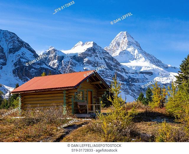 Canadian Rockies. Assiniboine Provincial Park. Mt Assiniboine