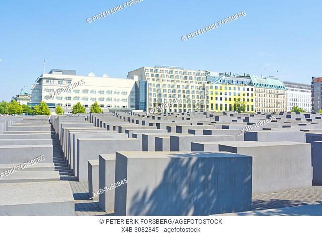 Memorial to the Murdered Jews of Europe, Holocaust memorial, Mitte, Berlin, Germany
