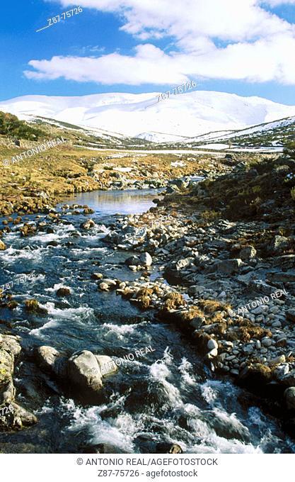 Garganta de la Covacha, Sierra de Gredos, Navacepeda de Tormes, Ávila province, Spain