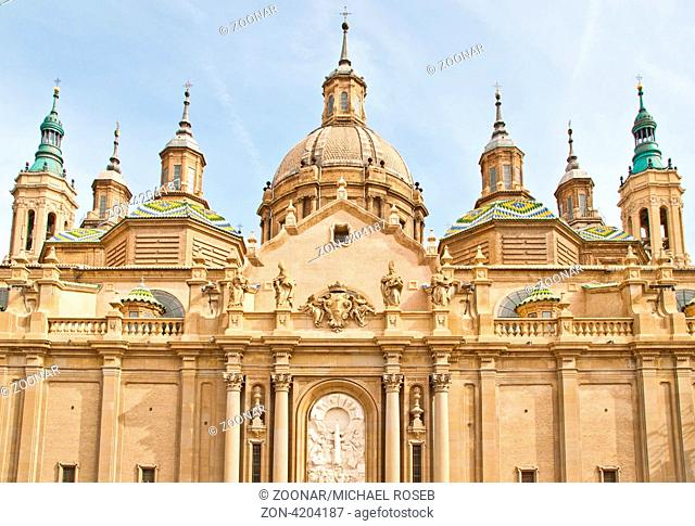 Basilica in Saragossa